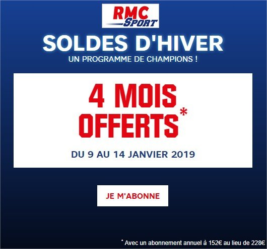 offre rmc sport