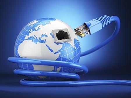 Le monde entier fonctionne à l'ADSL.