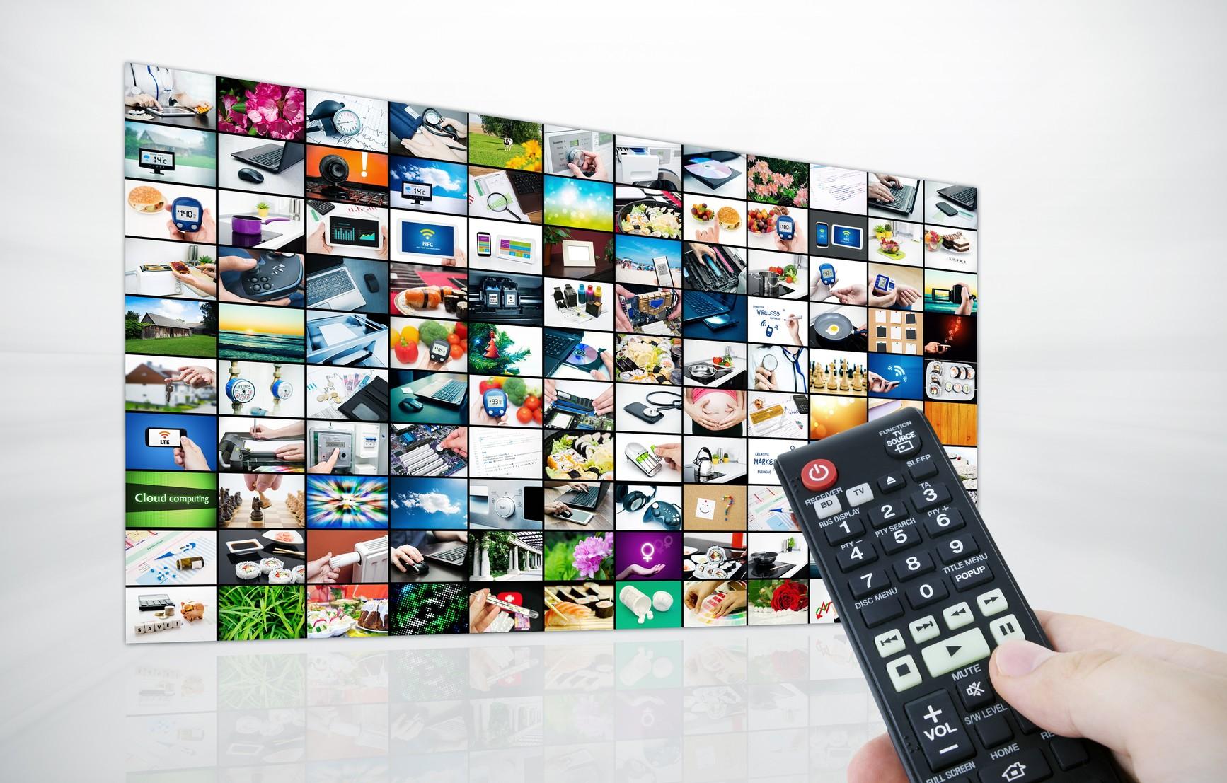 Avec la TNT, vous avez accès à des bouquets de chaînes en haute définition
