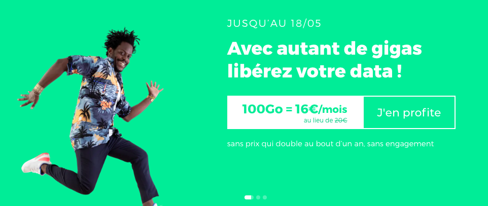 forfait 100 go promo red