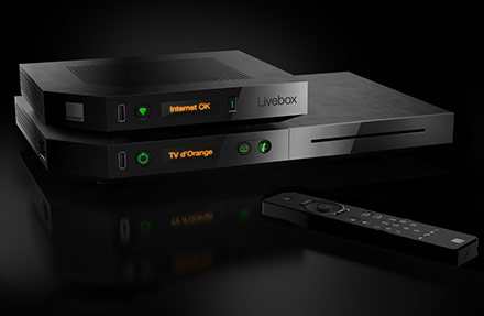 LiveBox Play Fibre d'Orange