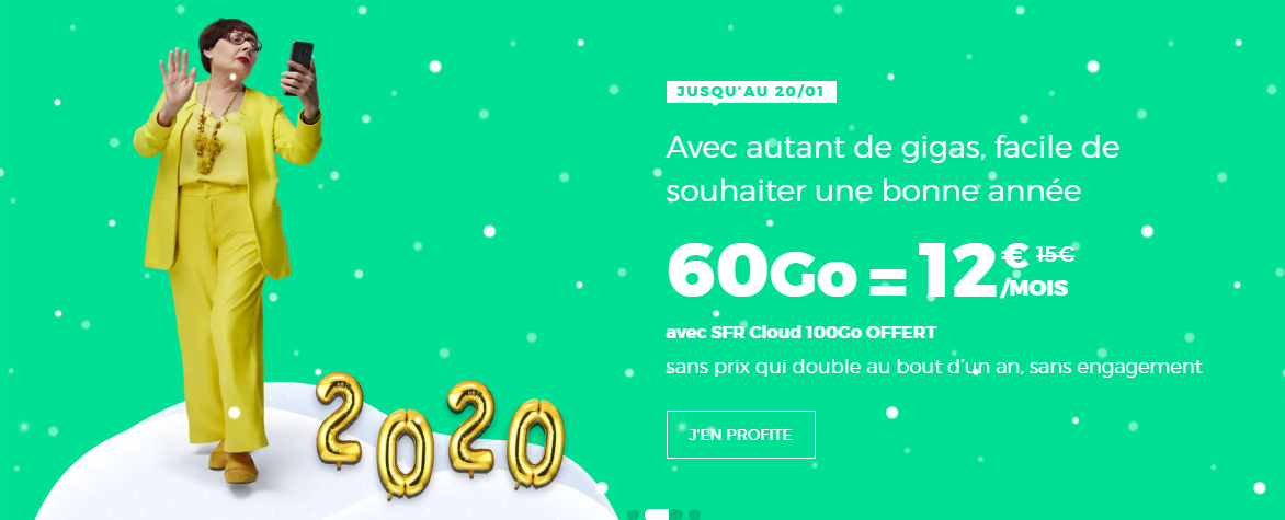 promo forfait 60go 20 janvier 2020