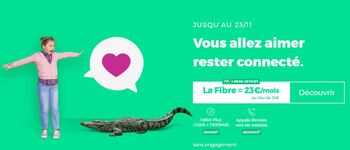 La box RED Fibre THD et ses options offertes